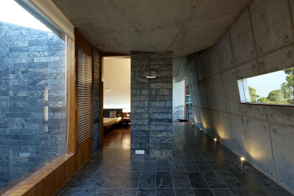 Concrete House In The Himalayas