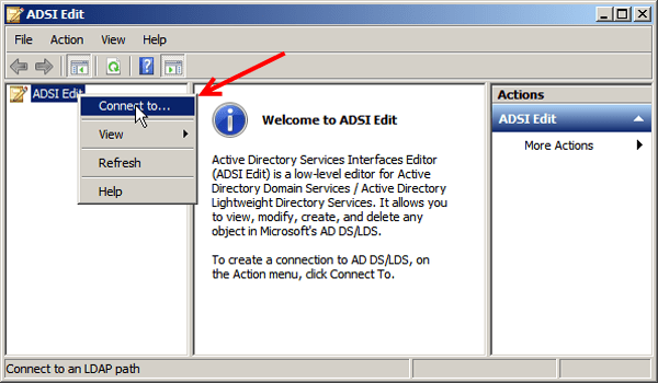 ADSIEdit solves yet another problem for Exchange 2013 ...