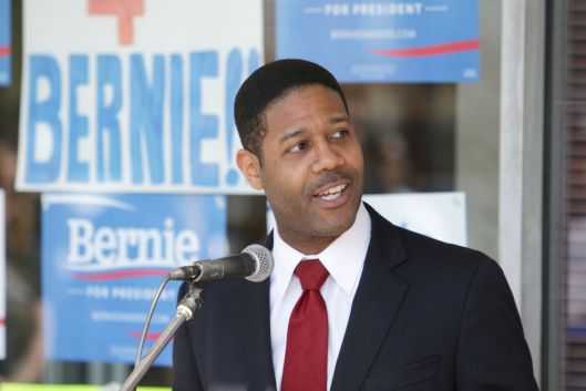 Kirk Clay - staff for Bernie Sanders' campaign in Missouri.