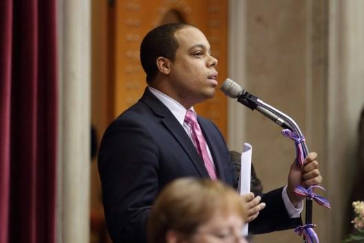 Representative Michael Butler (D) - May 13, 2016.