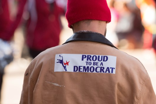Proud to be a Democrat.