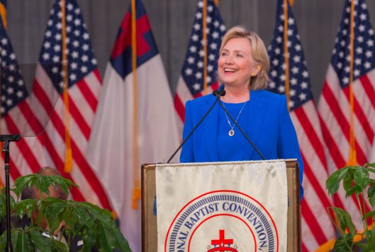 Hillary Clinton in Kansas City - September 8, 2016.