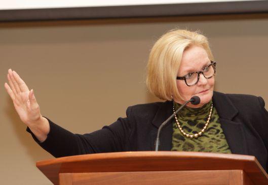 Senator Claire McCaskill (D) [2016 file photo].