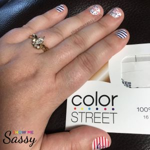 First Color Street Manicure