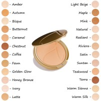 6. Jane Iredale - PurePressed - Base Mineral Foundation SPF 20 - Weightless mineral foundation with UV protection. The look is sheer and semi-matte. The feel is weightless. This pressed mineral foundation will look like your skin, only better. A foundation, powder, concealer and sunscreen all in one.Very water-resistant and highly pigmented.Applies evenly and easily, providing long-lasting, gorgeous coverage.Light diffusing properties make skin look flawless, healthy and younger.Minimizes pores and fine lines.No oil, talc, dyes and parabens.Gentle, safe for sensitive eyes and formulated with good-for-the-skin ingredients.Crease-resistant and long-lasting.May be applied wet or dry to complement any look.Great for shading, highlighting, contouring and lining