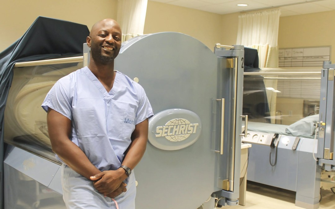 Hyperbaric Oxygen Therapy Supports Wound Vitality and Healing