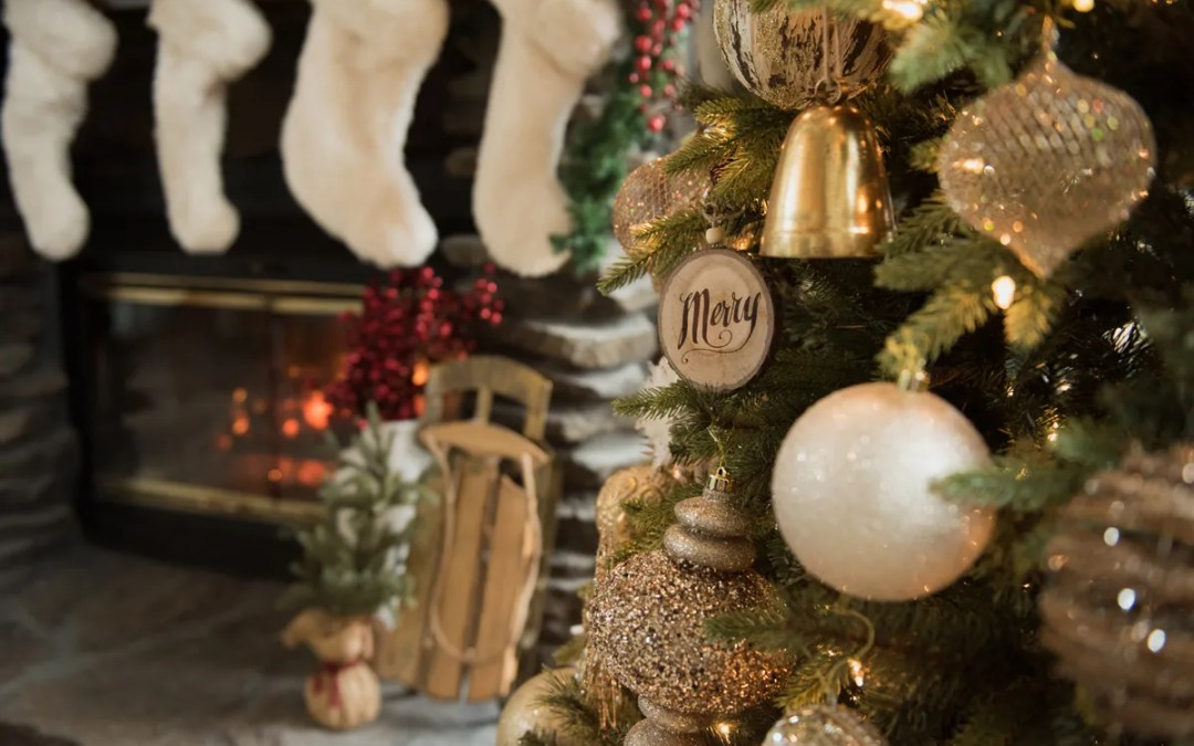 Glitter and Family Make a Holiday Home