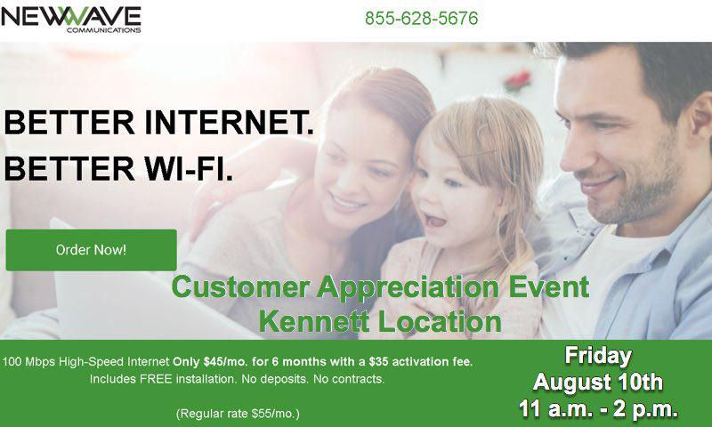 NewWave Communications to Host Customer Appreciation Days