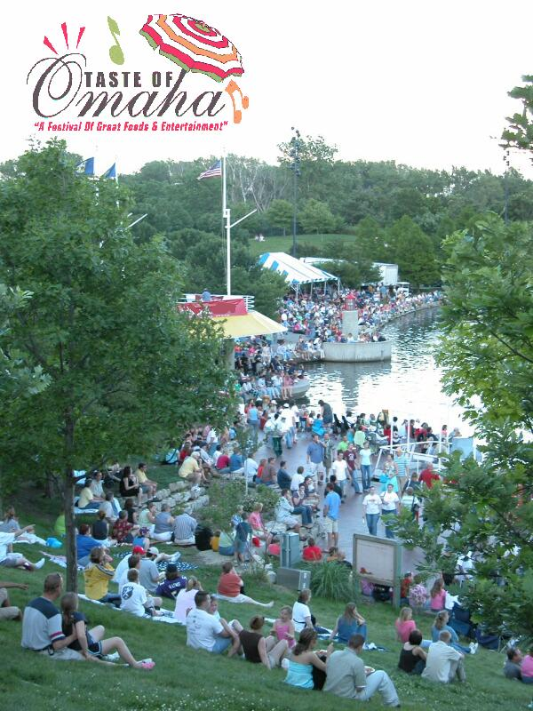 Taste - Crowd on Hill over water