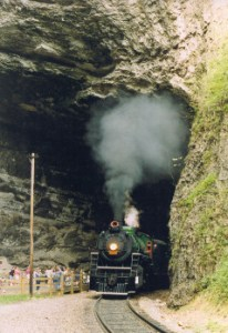 Virginia Natural Tunnel Train