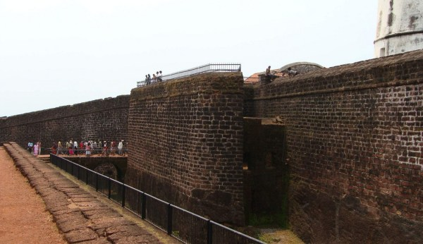 Fort Aguada Walls