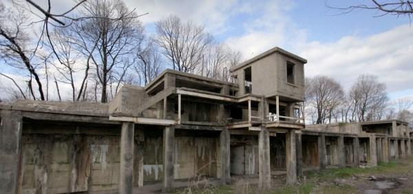 Fort Totten ruin