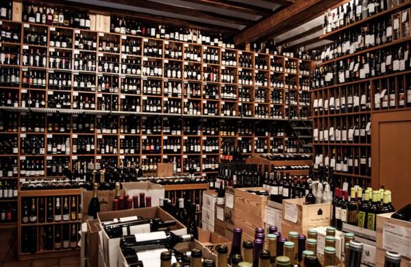 Vila Viniteca wine bottles