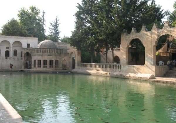Озеро Балыклы-Гёль в Турции