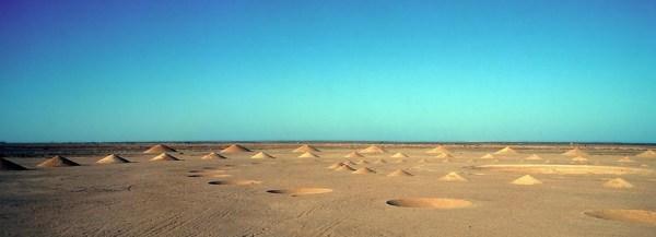 """Сооружение """"Дыхание пустыни"""" в Египте"""