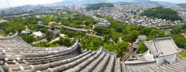 Himeji-jo view