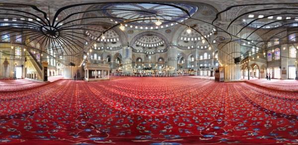 Sultanahmet Camii floor