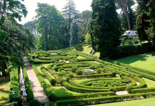 vatican gardens park