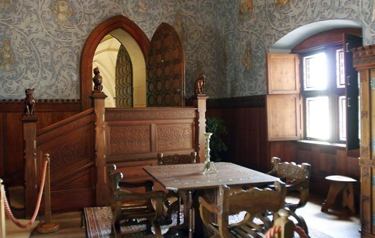 bojnice castle room