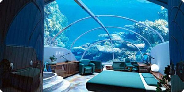 Подводный отель Флорида США
