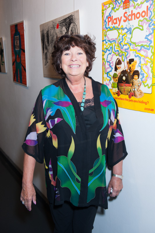 PICTURED: Carol Chell (Play School 50th anniversary reunion, 2014). SUPPLIED BY: Paul R. Jackson. COPYRIGHT: Paul R. Jackson.