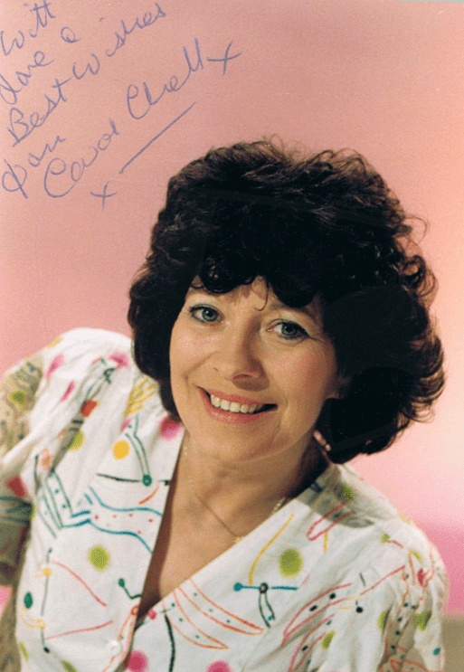 PICTURED: Carol Chell (1987). SUPPLIED BY: Paul R. Jackson. COPYRIGHT: BBC.