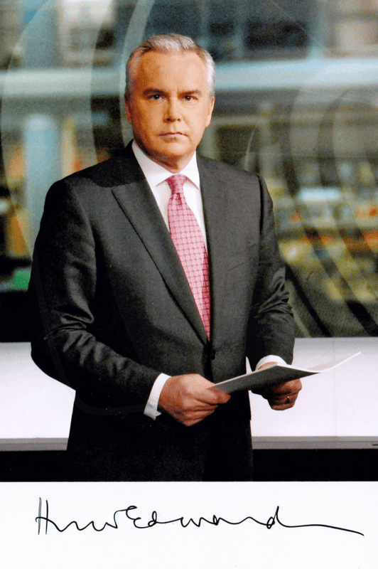 PICTURED: Huw Edwards.