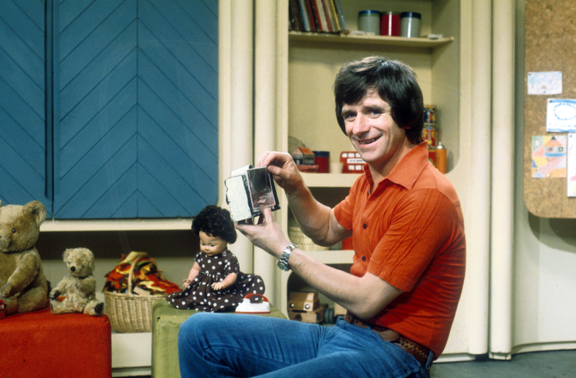 PICTURED: Johnny Ball (1970s). SUPPLIED BY: Paul R. Jackson. COPYRIGHT: BBC.