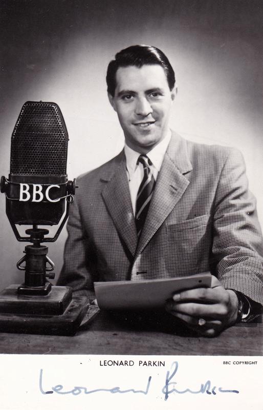 PICTURED: Leonard Parkin. SUPPLIED BY: Paul R. Jackson. COPYRIGHT: BBC.