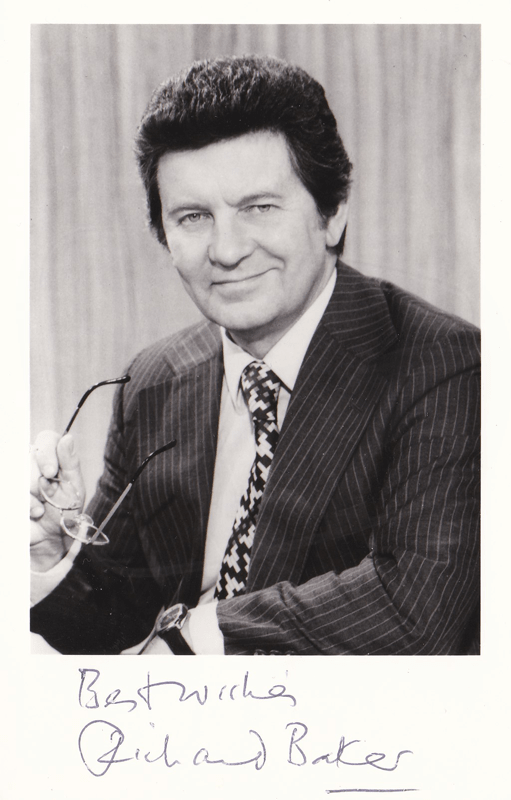 PICTURED: Richard Baker (1981). SUPPLIED BY: Paul R. Jackson. COPYRIGHT: BBC.