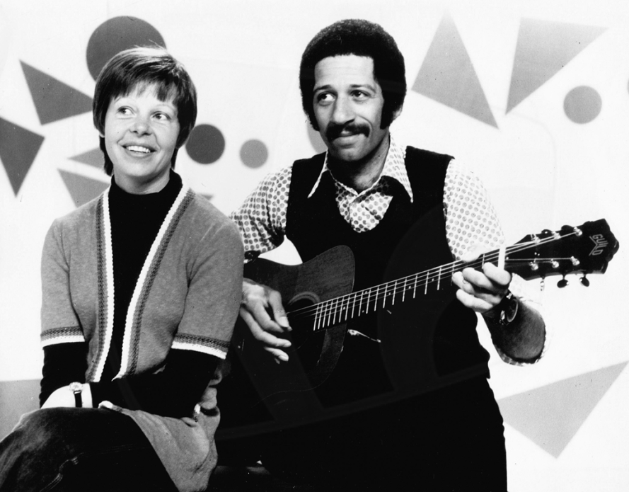PICTURED: Sarah Long and Derek Griffiths. SUPPLIED BY: Paul R. Jackson. COPYRIGHT: BBC.