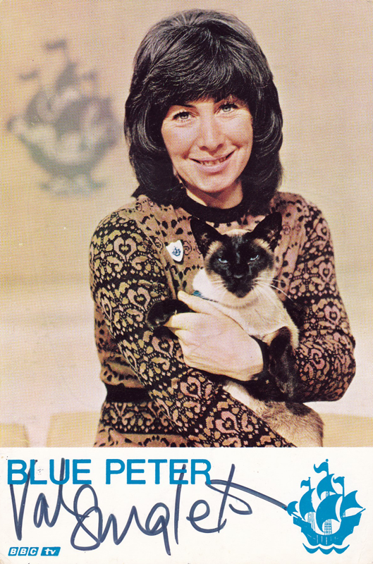 PICTURED: Valerie Singleton (Blue Peter). SUPPLIED BY: Paul R. Jackson COPYRIGHT: BBC.