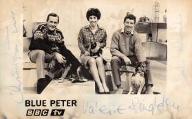 PICTURED: Chris Trace; Valerie Singleton; John Noakes (Blue Peter, 1966). SUPPLIED BY: Paul R. Jackson COPYRIGHT: BBC.