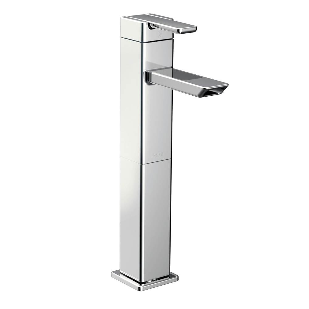 hight resolution of moen single hole bathroom sink faucets item s6711
