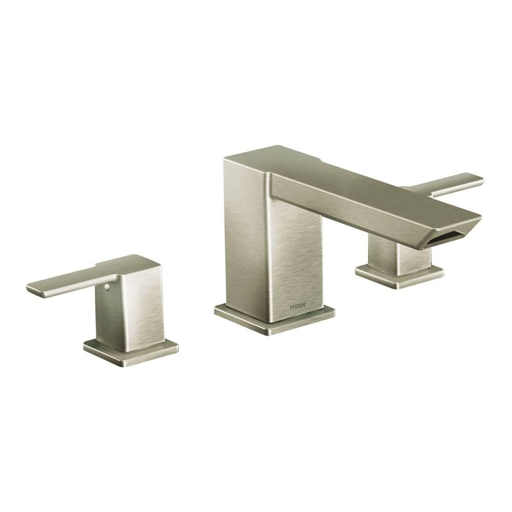 hight resolution of moen deck mount tub fillers item ts903bn