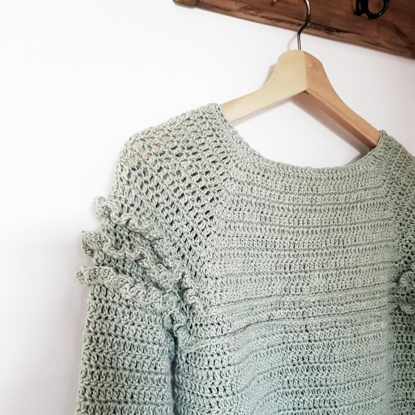 Lola sweater crochet pattern