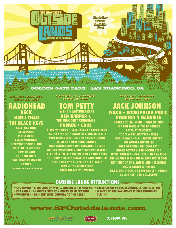 2008 Outside Lands
