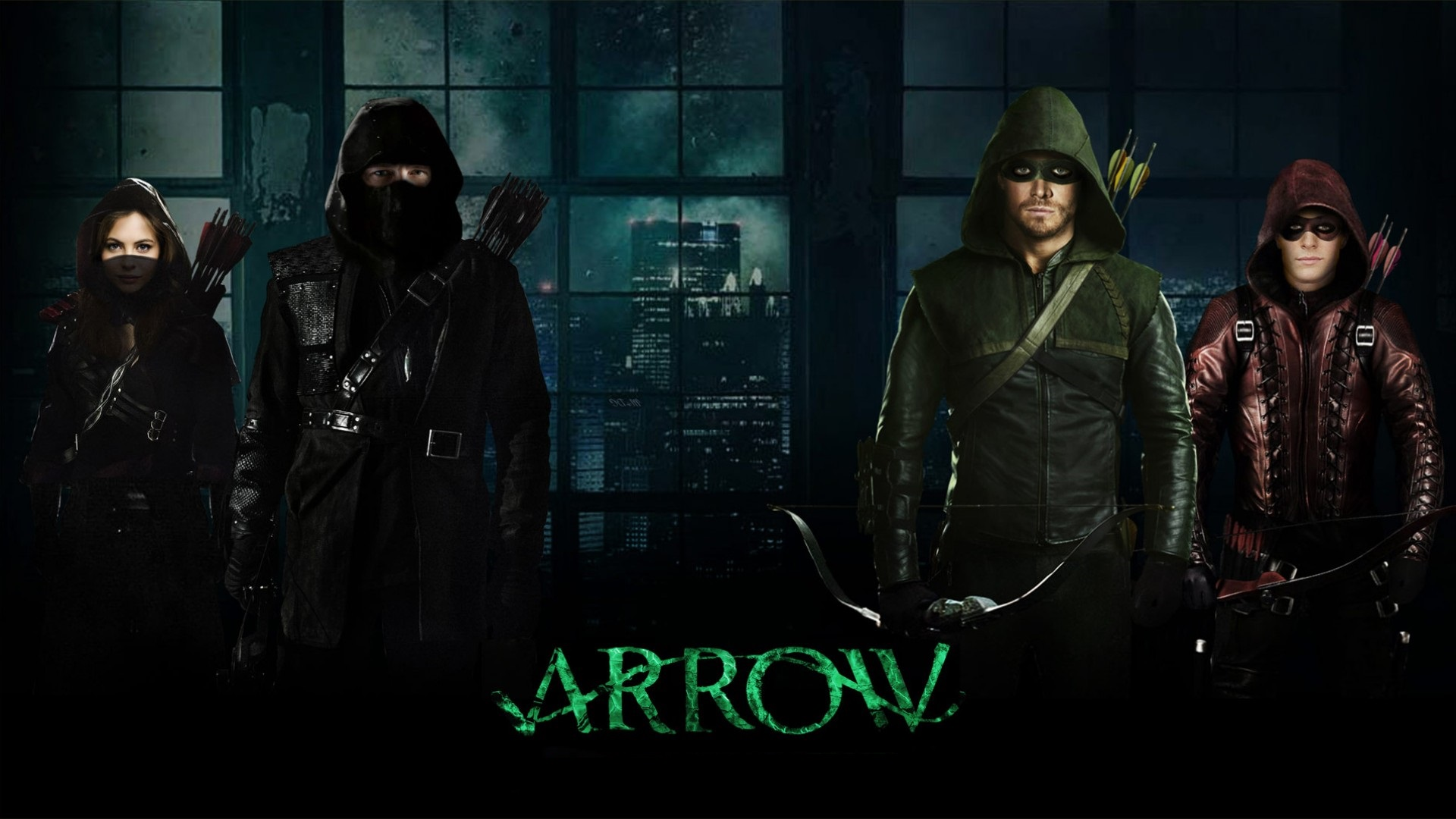 Arrow 6x17 - Brothers in Arms