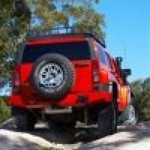 ARB Rear Bar Hummer H3 No Flr