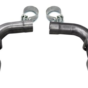 Two Single 4.5 Inch Polished Tips Clamps Included Dual Rear Exit For Corsa Camaro SS Exhaust Only Stainless Steel Corsa Performance