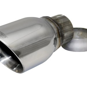 Single 4.0 Inch Polished Pro-Series Tip (Clamp Included) 2.5 Inch Inlet Universal Stainless Steel Corsa Performance