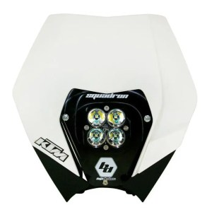 KTM 08-13 Complete LED Kit W/ Head Shell White Squadron Pro Baja Designs