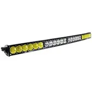 40 Inch LED Light Bar Amber/White Dual Control Pattern OnX6 Arc Series Baja Designs