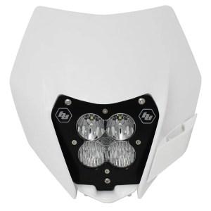 KTM Headlight Kit DC 14-On LED W/Headlight Shell XL Sport Baja Designs