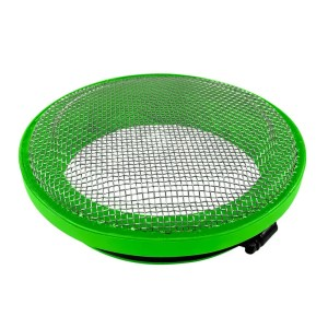 Turbo Screen 4.0 Inch Lime Green Stainless Steel Mesh W/Stainless Steel Clamp S&B