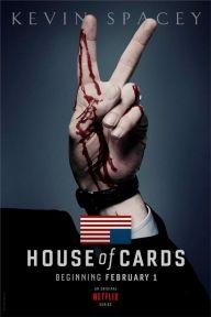 """Poster de la série """"House of Cards"""""""