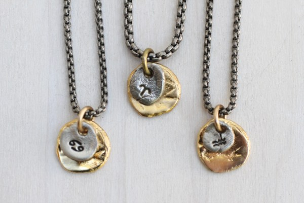 whats your sign necklace