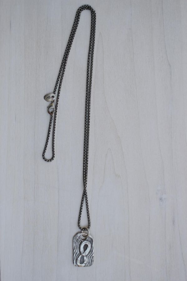 men's eternal love necklace
