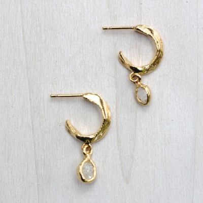 Whisper Hoop earrings
