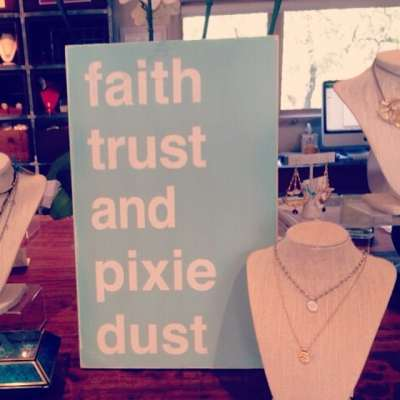 FAITH TRUST AND PIXIE DUST! Wear a little magic every day with our Pixie Dust Necklace! www.shop.showthelove.com/all-jewelry/shop/pixie-dust/ #showthelovejewelry #pixiedust #inspiration #necklace #jewelry #magic